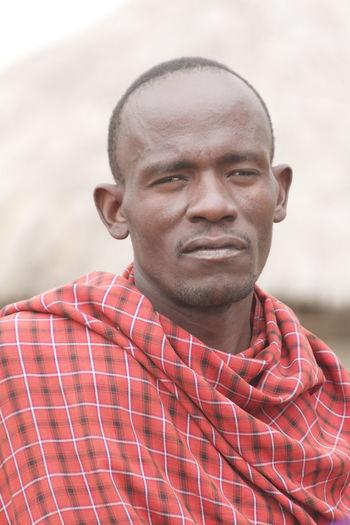 Masai man #EyeEmNewHere EyeEmNewHere Tanzania Adult Africa Headshot Masai Masai Man Masai Tribe One Person Portrait