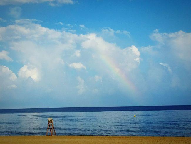 Summer Cabrera De Mar Maresme Beach Photography Paradise Childness r Rainbow 2015  Catalunya Mediterraneo Barcelona Landscape Beachphotography