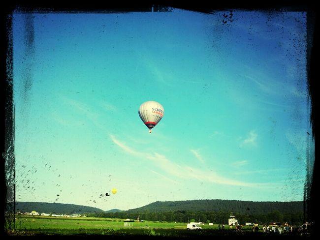 Ballonfiesta in Föhren