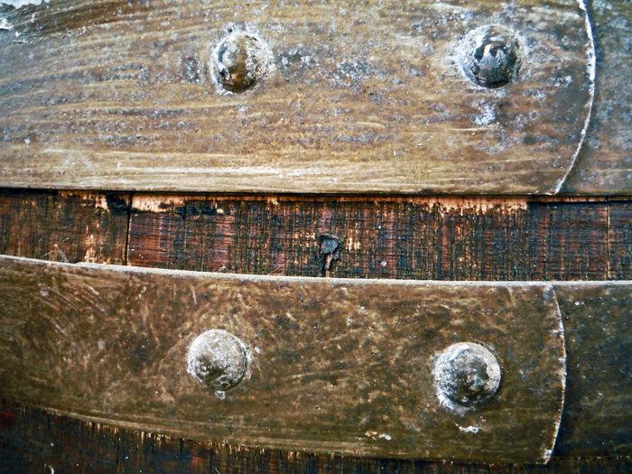 Full frame shot of rusty wood