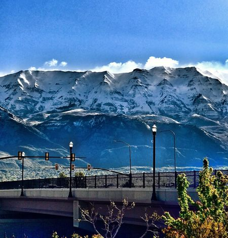 The Great Outdoors - 2017 EyeEm Awards Mountain Nature Beauty In Nature Scenics Day Blue Winter Snow Outdoors Cold Temperature Sky no people The Street Photographer - 2017 EyeEm Awards Mount Timpanogos