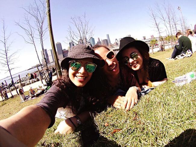 Selfie Spring Bk NYC Friends