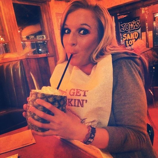 Omg. These pineapple pina coladas are fantastic! Sogood Joescrabshack Bestfran