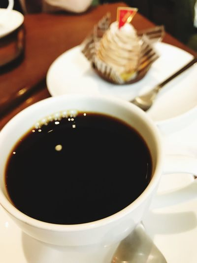 Hot black coffee Food And Drink Coffee - Drink Cafe
