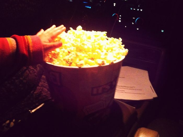 Just Bekause My Baby Wanted Some Popcorn :) #LittleHands