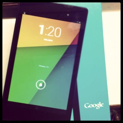 Welcome to the family :D Google Nexus Nexus7 2013edition