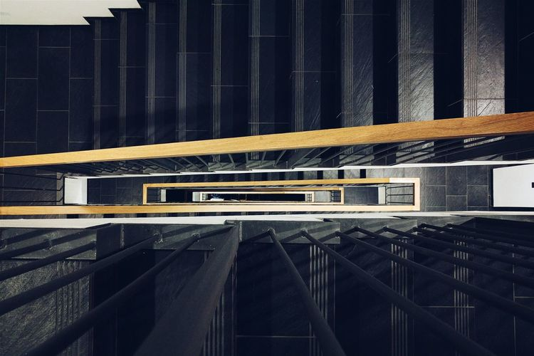 The Architect - 2016 EyeEm Awards A Bird's Eye View Diminishing Perspective No People Fluorescent Light
