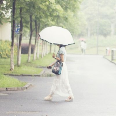 girl in the rain Rain Girl School Schoollife hangzhou unbrella china dormitory