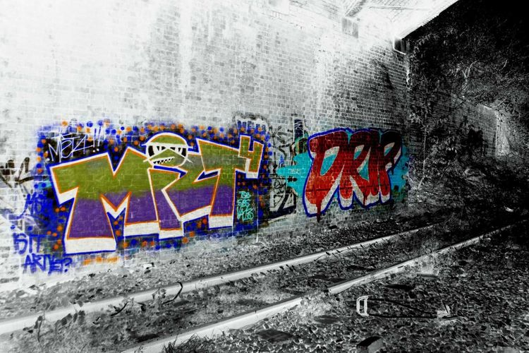 Check This Out Colorsplash Taking Photos Edit Check This Out Train Line