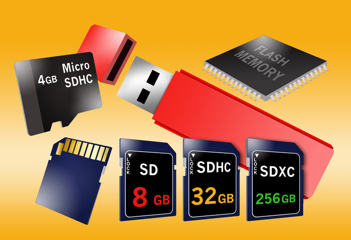 Flash memory devices and cards. 256G 32gb 64G Computer Memory Flash Flash Card Flash Memory Card Flash Photography Memory Thumbdrive