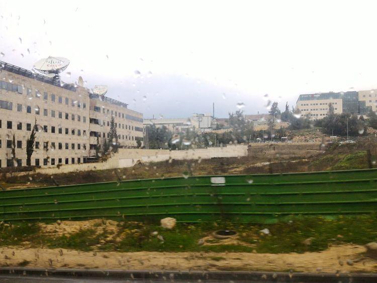 Modiin, Israel Looking Through The Window during the Rain