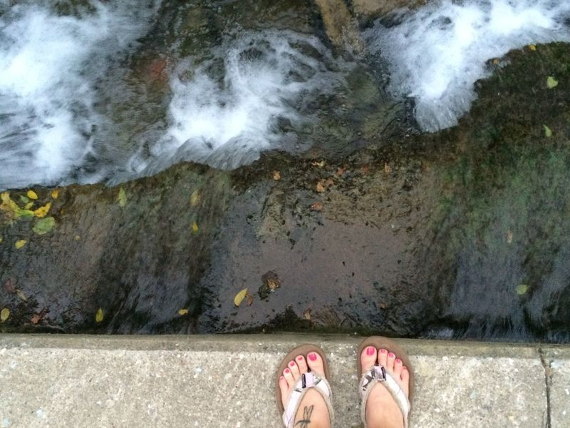 Love Yourself Human Foot Personal Perspective Day Outdoors Water Nature