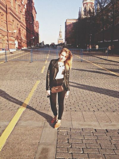 Street Fashion Today's Hot Look Moscow