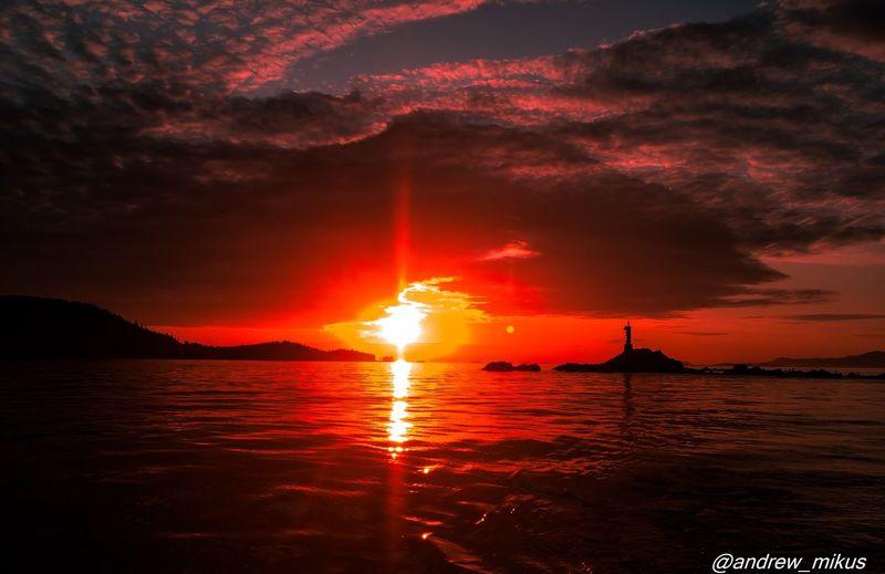 Fading Into Darkness Sunset Ocean Followme WestCoast Nature Photography Nature Amazing