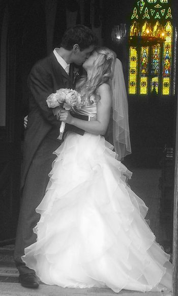 Photos That Will Restore Your Faith In Humanity Capture The Moment Wedding Wedding Photography Church Ireland🍀 Colorsplash Kiss Bride And Groom Qoute  LOVE IS A PROMISE, LOVE IS A SOUVENIR, ONCE GIVEN NEVER FORGOTTEN, NEVER LET IT DISAPPEAR. By John Lennon Stained Glass I Love Color Splash Color Splash Bnw_life Blackandwhite Bnw_collection Weddings Around The World