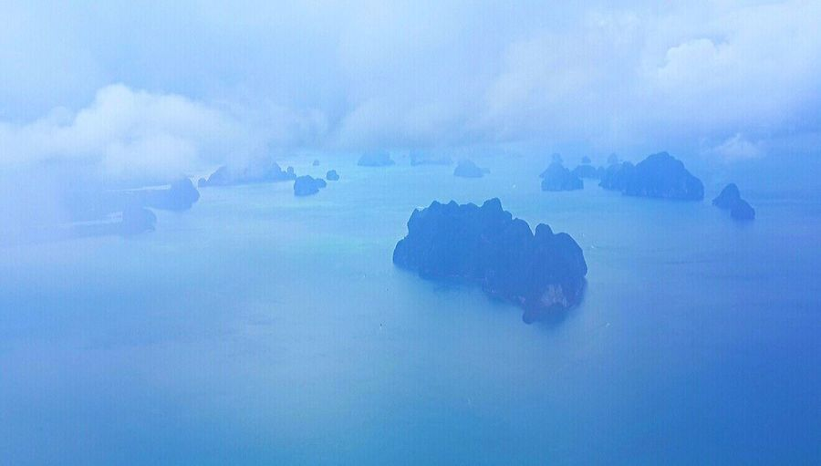 Ocean Viewfromtheplane Thailand Clouds Blue Looking To The Other Side RePicture Travel Cobalt Blue By Motorola