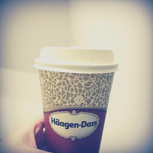 Häagen-Dazs Haagendazs Strawberry Latte Love ♥ Tainan, Taiwan
