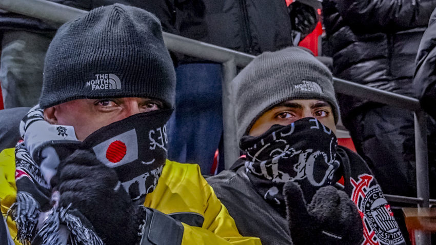 Friends Japan Photography Toyota Stadium Close-up Headshot Lifestyles Outdoors People Portrait Real People Warm Clothing Young Adult Cold Temperature Freezing Cold Shades Of Winter
