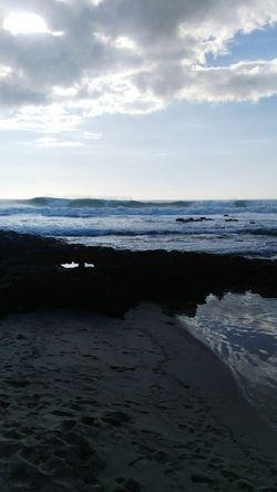 Sea Cloud - Sky Beach Horizon Over Water Landscape Nature Sky