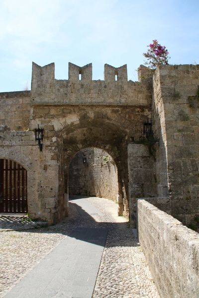 Ancient Ancient Civilization Arch Architecture Built Structure Castle Day History No People Old Ruin Outdoors Rhodes Rhodes Old Town, Greece Rodos City Ródos Travel Travel Destinations