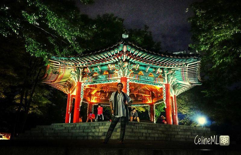 Pagoda In Korea Illuminated Korean Culture Modelgirl Myself And I The Week On EyeEm