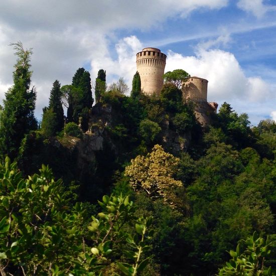 Castle Tower Medieval Italy