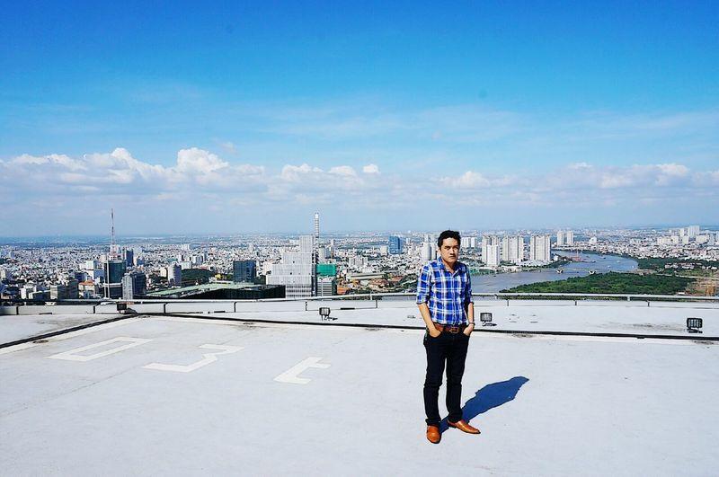 °°° Top of icon68 °°° That's Me Hello World Landscape Bitexco Check This Out Saigon Heli Park