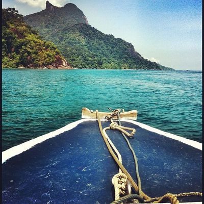 In the boat to Tioman Photography Bliss Instagram Igsg Ig Sgig IPhoneography Tioman Malaysia Island Sea
