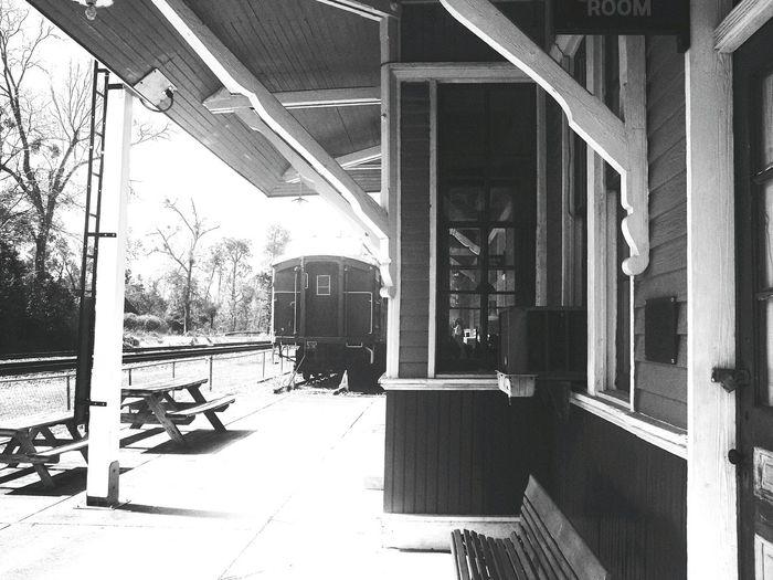 Old Train Station Milton Florida Museum Railroad Museum Architecture