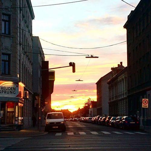 Sunrise Wien Vienna Fromthecar