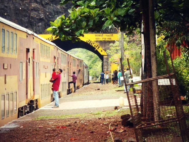 Konkanrailway Indianrailways Photography Roaming Around Station Platform Feel The Journey