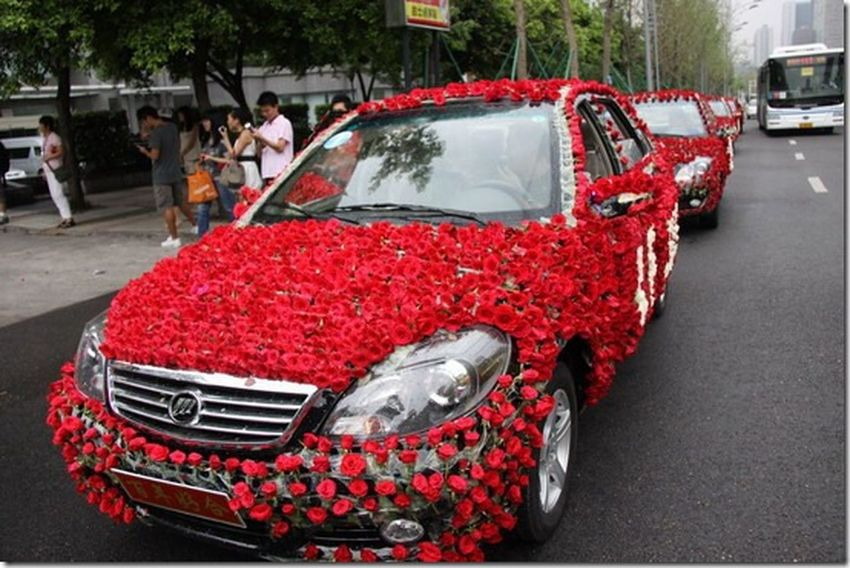 How is it wedding car