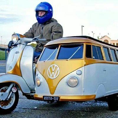 Custom Motorcycle Love Husvagn