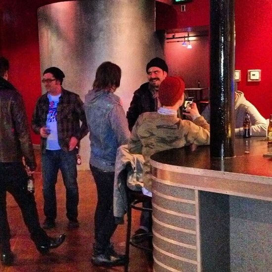 Silverstein hanging at the MetroBar Slc ProjectSLC