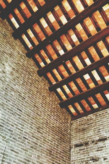 Ceiling Walls mother's second Childhood Home 1930s or 1940s Village Jiangmen Guangdong China Travelphotography