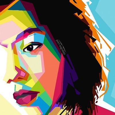 Face Colouring  Draw Wpap Art Artdaily Popart Design Gift Puput By_riobhintoroo Photoshop Psd  Jpeg Image Edit Indonesian Instagram Late