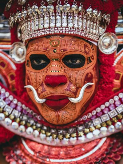 Theyyams of Kannur - Kerala / India Tradition Travel Destinations Theyyam Kerala India Festival Portrait Photography Kerala Theyyams Of Kannur Kerala, India Kannur Indian Culture  Travelling Traveling Travel Photography Travel India Indian Portrait Portrait Photography Portrait Of A Man  Travel Destinations Portraits Kannurphotos Art And Craft Disguise Close-up Arts Culture And Entertainment Mask Mask - Disguise No People