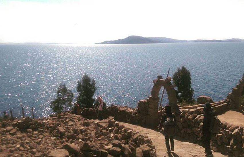 Travelers Travelgram Travelingperu Traveling Instatravel Instatraveling Memories Titicaca LakeTiticaca Peru Islands Landscape