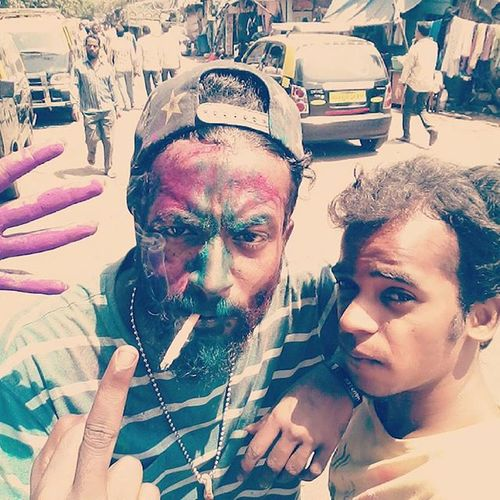 Holi throwback Dopedaddy Happy Madrasi Tamilswag