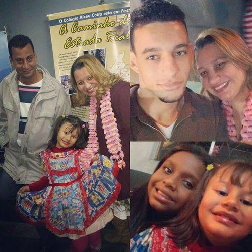 Teve quadrilha sim *-* Família Party Happy Love Amor Fesfa Quadrilha Saojoao2015