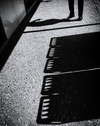 Shadow On The Move Person The Way Forward Day Shadow On The Move Person Day The Way Forward