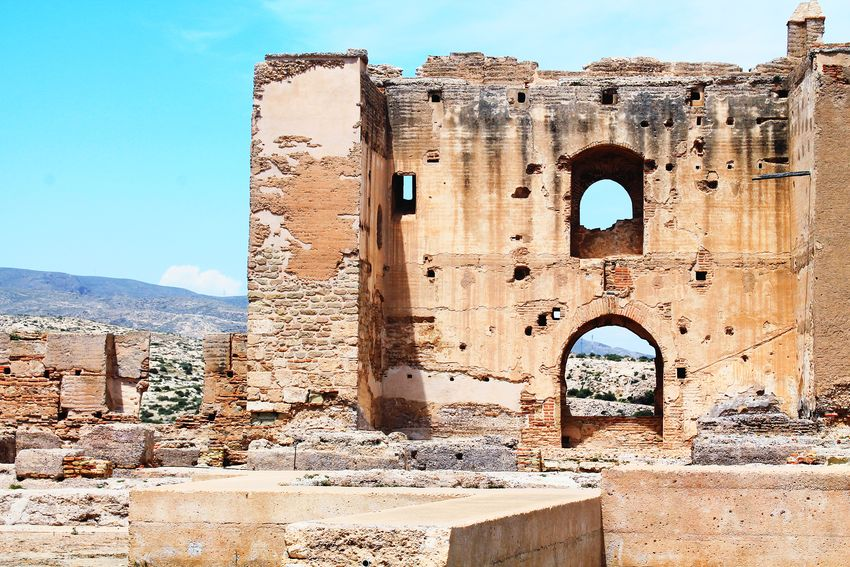 moorish ruins in the desert Moor  Moors Castle SPAIN Sunny Ruins Ruins Architecture Desert Desert Landscape North Africa Desert Sky Sky Skyporn Ancient Civilization Desert Pyramid Ancient Old Ruin History Clear Sky King - Royal Person Monument The Past Ancient History Arid Climate Barren Archaeology Arid Drought Ruined Arid Landscape EyeEmNewHere