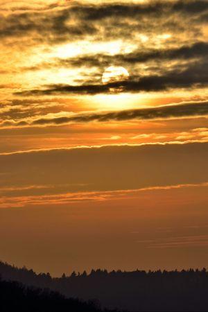 Sun Sunset Sky Clouds And Sky Nikon Skyporn