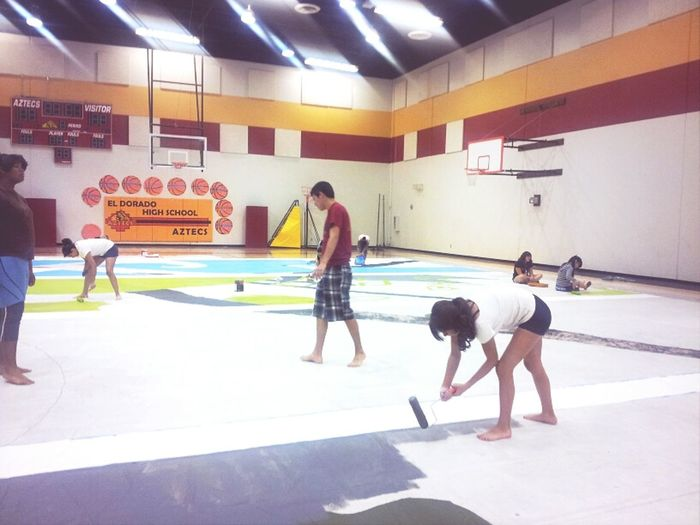 Painting Are Mat For WinterGuard