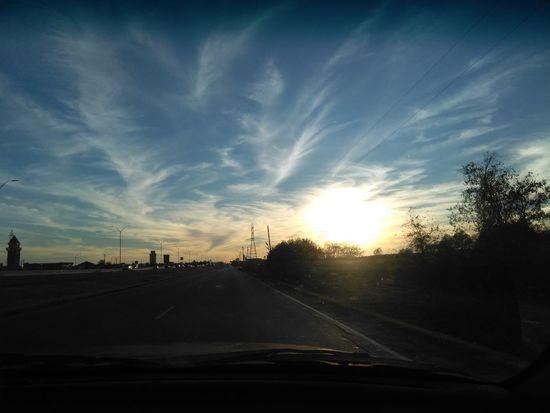 Car Sunset Transportation Cloud - Sky Road Sky Mode Of Transport Nature Outdoors
