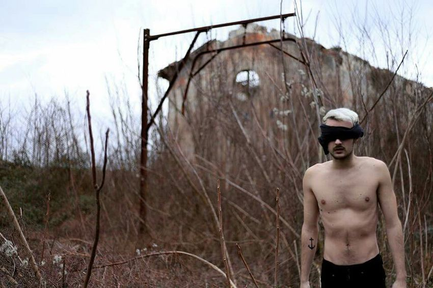 """The Amazing Human Body Taking Photos Surrealism Myself That's Me """"Blind"""""""