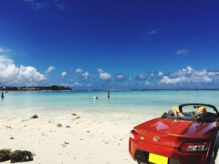 Car Guam Copen Summer Beach 2015夏@グアム