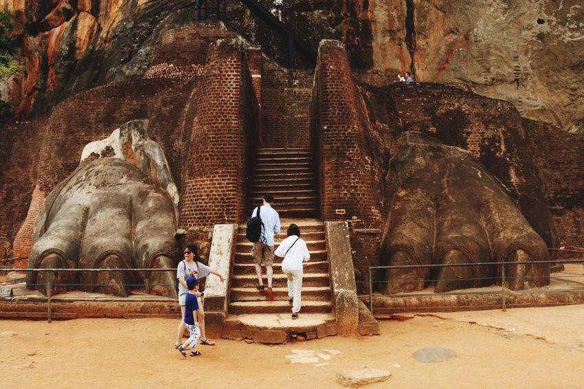 Not Just Rocks Ancient Architecture Princ Place Lion Rock Travel Photography Visit Sri Lanka