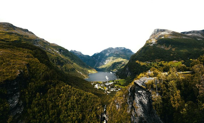 Norway Nature Beauty In Nature Mountain No People Landscape Outdoors Exploring Power In Nature Cloud - Sky Autumn Norway Beauty In Nature EyeEm Nature Lover EyeEm Best Shots Eyembestshots Eyemphotography Shootermag POV Geirangerfjord
