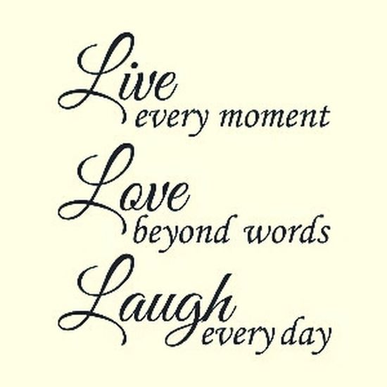 Quotes♡ Quote (: Live and enjoy and be happY eavRy time eavry where mŸ friends My Quotes!!